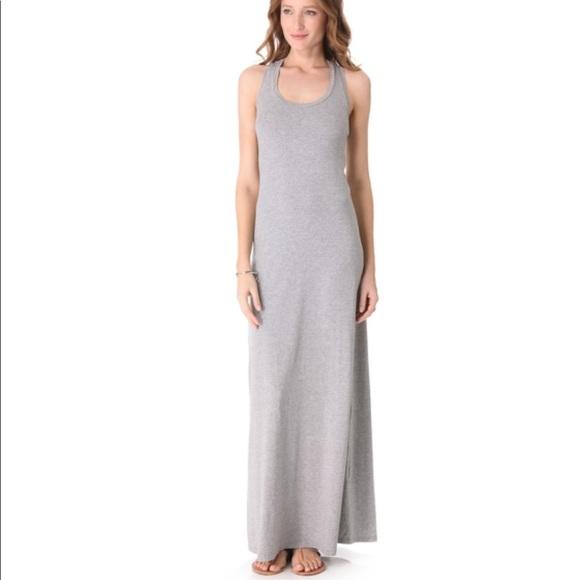 1df83bf6a693 Splendid Gray Tank Cotton Maxi Dress. M 5b6f7ea803087c3b6f6346a3